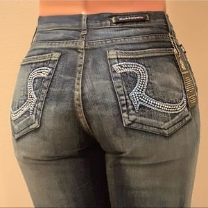 Rock & Republic jeans with crystals